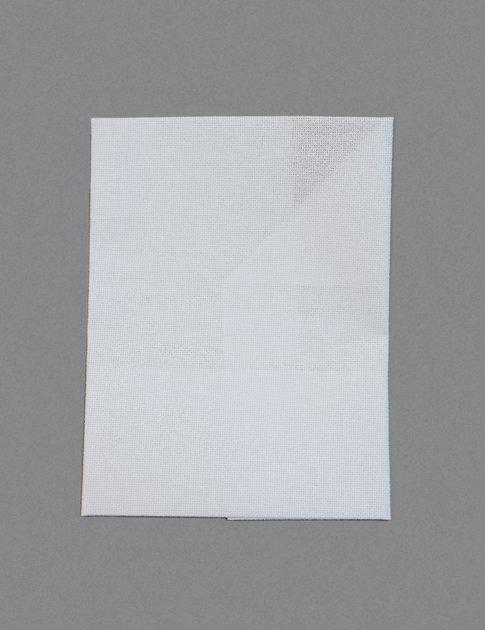 White aidaväv i 7 kors/cm