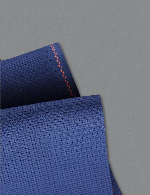 Dark blue aida fabric in  14 crosses/inch