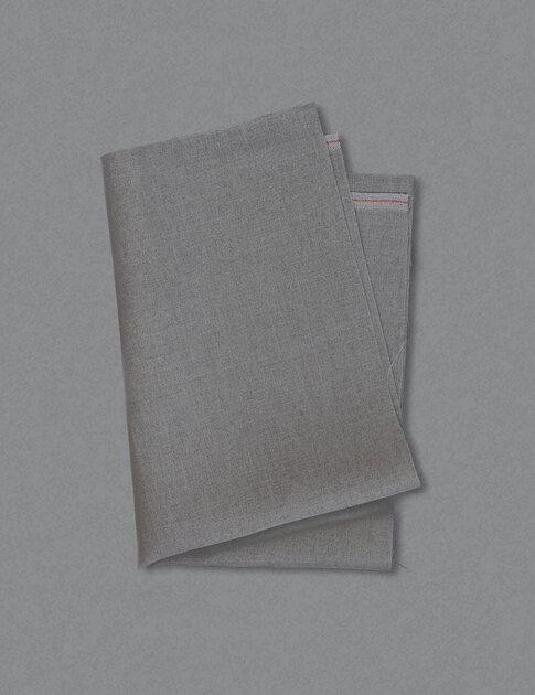 Beige linen fabric