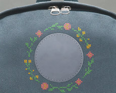Embroidery kit for backpack Summer Meadow